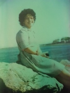 my fashionista mommy during a visit to Puerto Rico in the 1970's